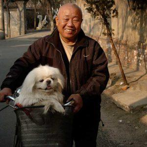 Hutong-innevånare i Peking, Kina Foto: Kjell Fredriksson