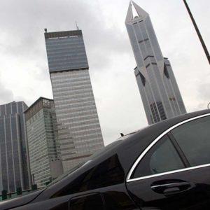 Shanghai-vy, Kina Foto: Kjell Fredriksson