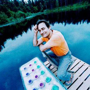 Ben Furman, välkänd psykiatriker från Finland, Porträtt i miljö Foto: Kjell Fredriksson