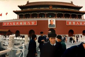 Ritanparken i Beijing 15/15, Tusen tranors flykt Foto: Kjell Fredriksson