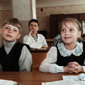 Lektion i tandvård i Pskov, Ryssland Foto: Kjell Fredriksson